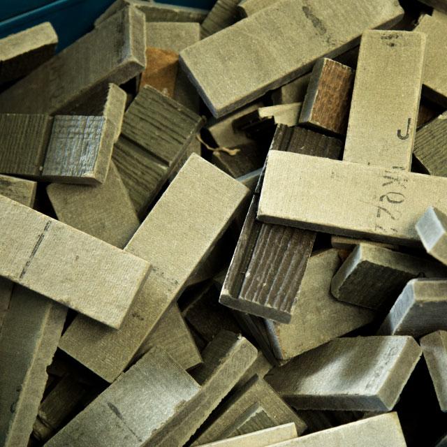 インターロッキングブロック サイディング 端材 廃材 リサイクル