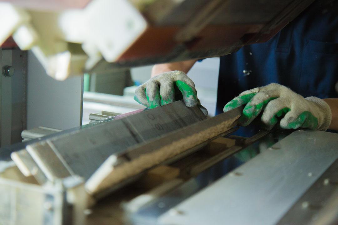 端材の有効利用 出隅の加工製作